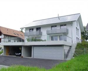 Doppeleinfamilienhaus Mühlethurnen